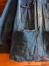 Load image into Gallery viewer, 1950s Denim Chore Jacket