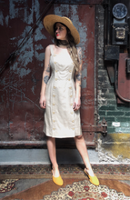 Load image into Gallery viewer, Oatmeal Button Dress