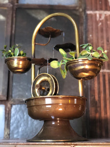 Lily-Pad Water Fountain Planter