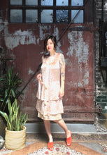 Load image into Gallery viewer, 1920s Blush Velvet Dress