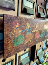 Load image into Gallery viewer, Antique Dutch Pyrography