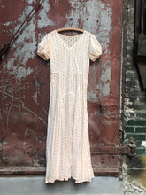 Load image into Gallery viewer, 1930s Cotton Eyelet Dress