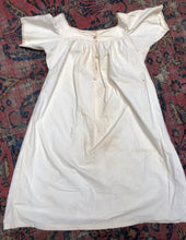 Load image into Gallery viewer, Edwardian Cotton Nightgown