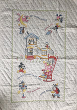 Load image into Gallery viewer, Muslin Nursery Rhyme Quilt