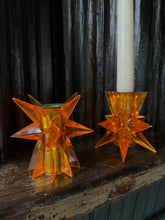 Load image into Gallery viewer, Starburst Candle Holder Set (2)