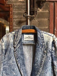 '80s Acid Wash Blazer