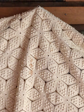 Load image into Gallery viewer, Large Crochet Knit Throw