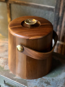 Walnut Ice Bucket