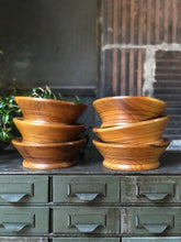 Load image into Gallery viewer, Wooden Bowl Set (6)