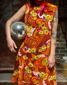 Psychedelic Shift Dress