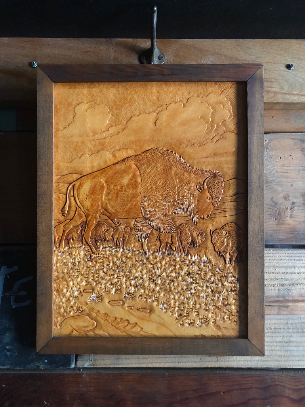 Rustic Tooled Leather Picture