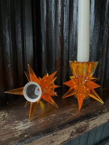 Starburst Candle Holder Set (2)