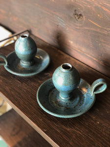 Ceramic Candle Holder Set (2)