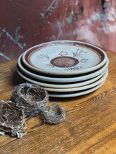 Load image into Gallery viewer, Unglazed Stoneware Plate Set (5)