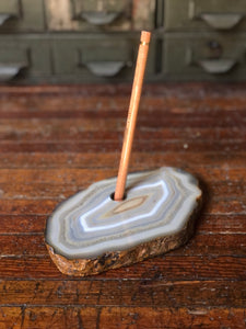 Agate Pen Holder