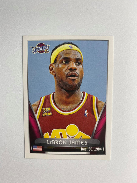 2014-15 NBA Lebron James CAVS Sticker #86