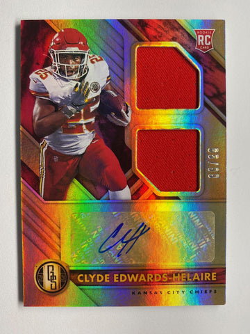 2020 Gold Standard Football CLYDE EDWARDS-HELAIRE RPA 65/99