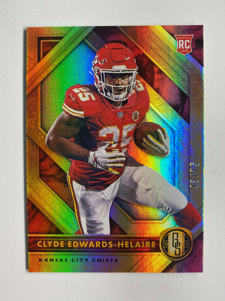2020 Gold Standard Football CLYDE EDWARDS-HELAIRE RC 43/75