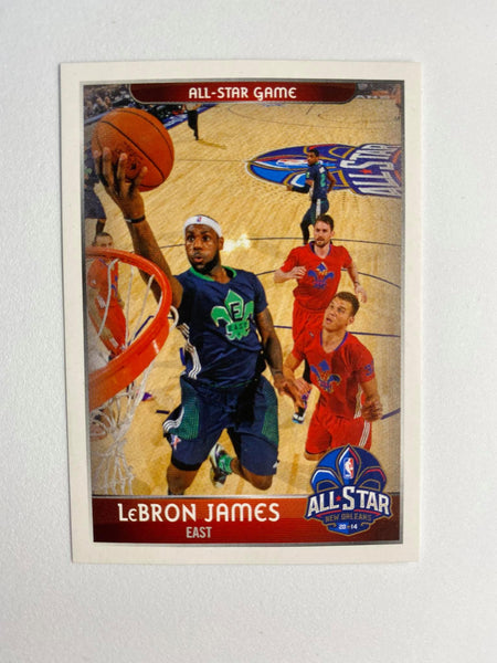 2014-15 NBA Lebron James Sticker #429