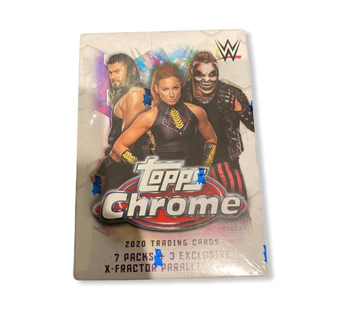 2020 Topps WWE Chrome Wrestling Blaster Box