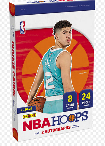 2020-21 NBA Hoops Hobby Box