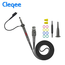 将图片加载到图库查看器,Cleqee P6100 2pcs 100MHz BNC Oscilloscope Probe Kit DC-100MHz Alligator Clip Test Probe for Tektronix HP X1/X10