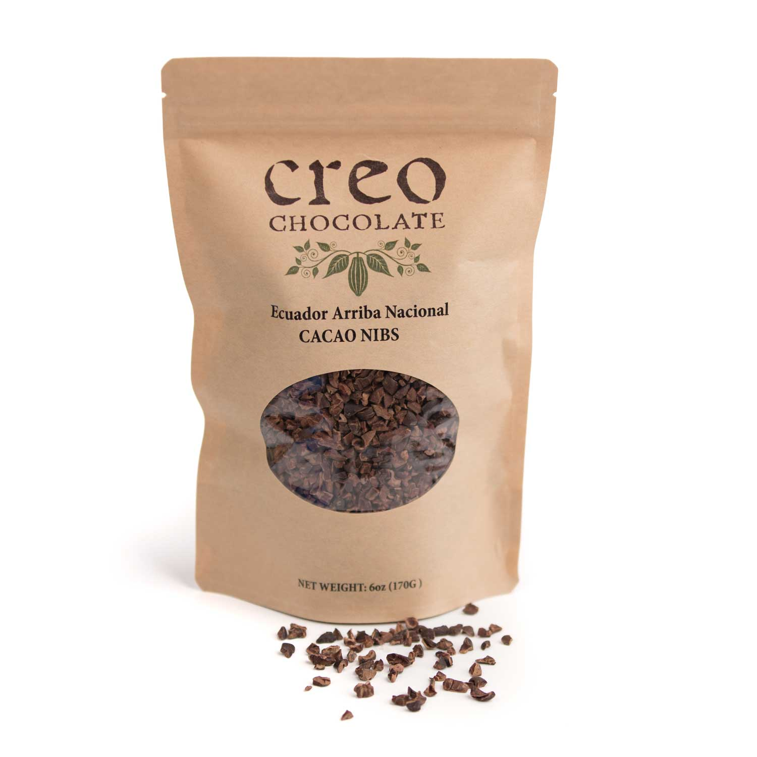 Roasted Cacao Nibs - Creo Chocolate