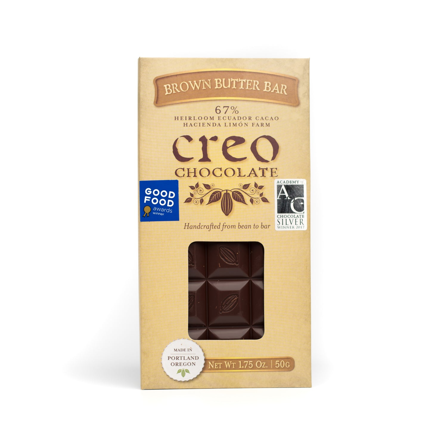 Brown Butter Bar - Creo Chocolate