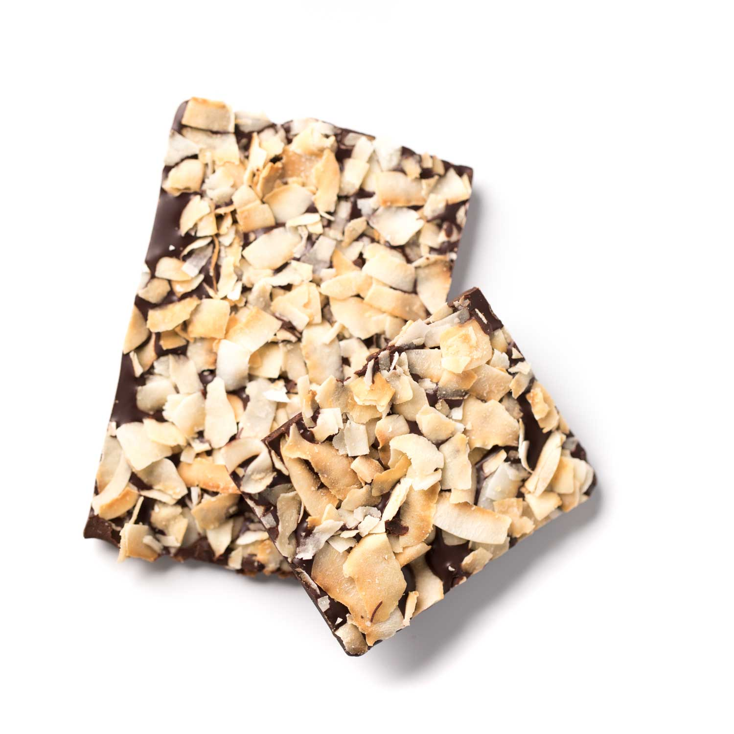 Dark Toasted Coconut Bar - Creo Chocolate