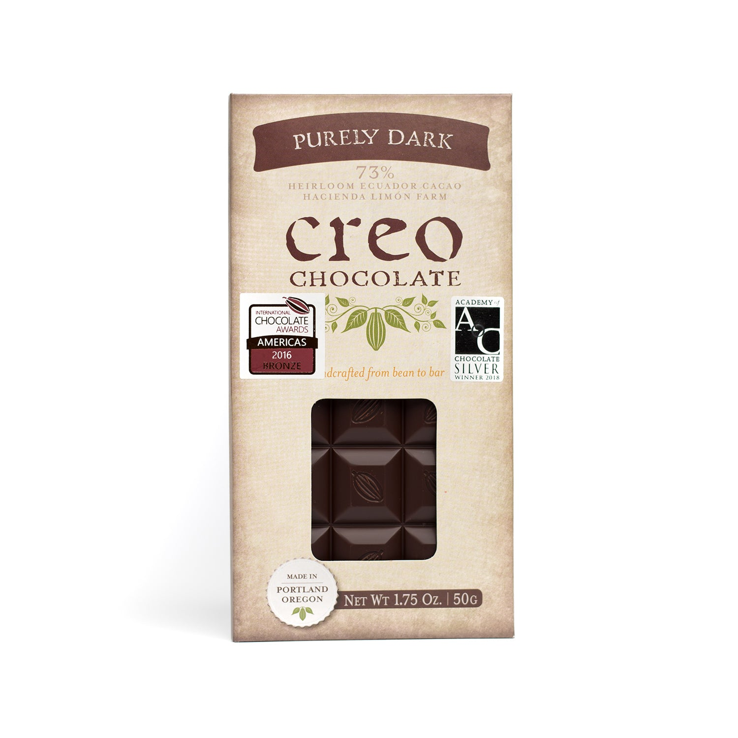 Purely Dark 73% - Creo Chocolate