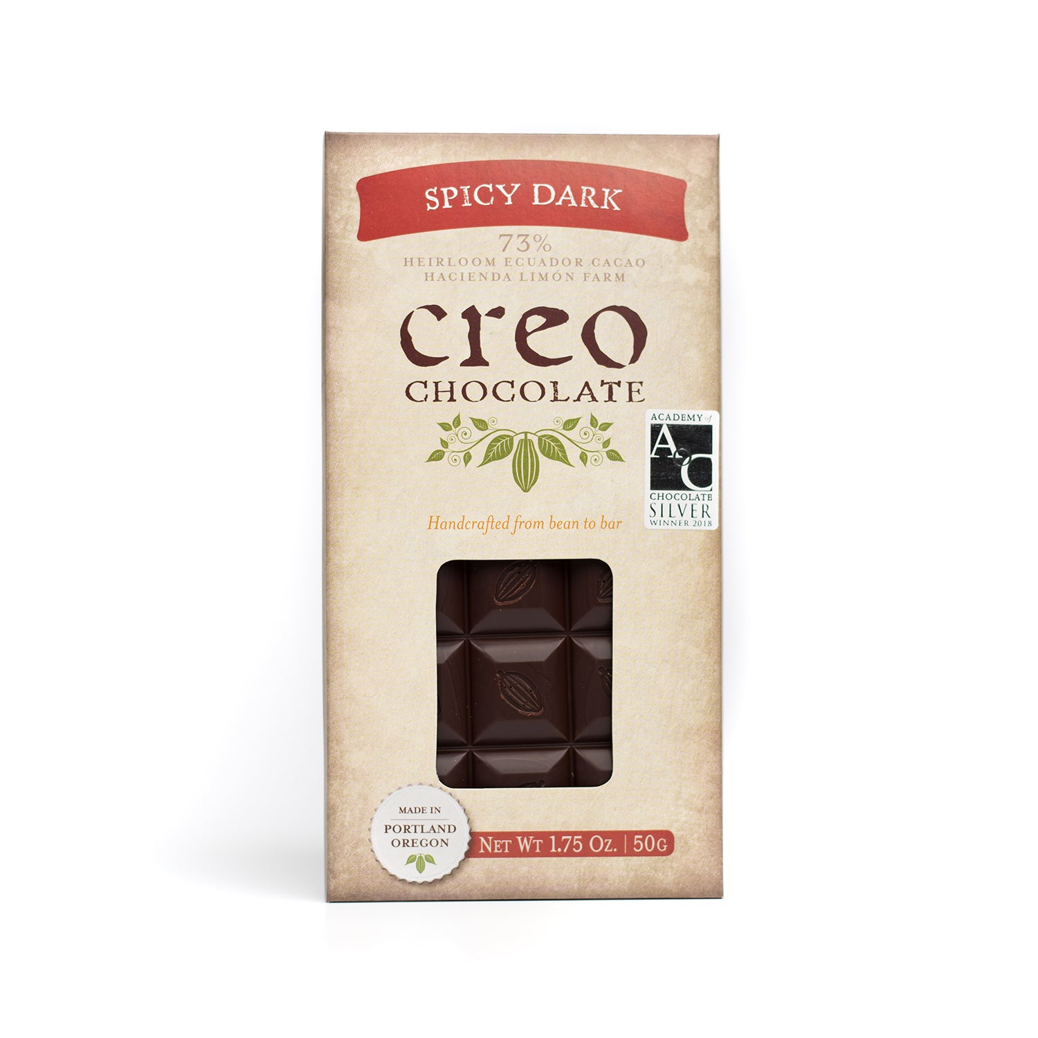 Spicy Dark - Creo Chocolate