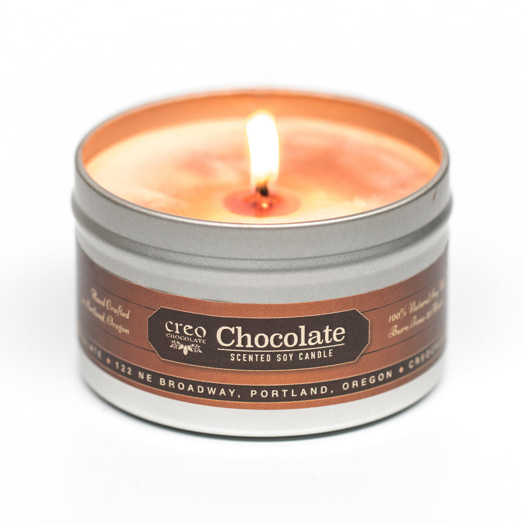 Chocolate Scented Candle - Creo Chocolate