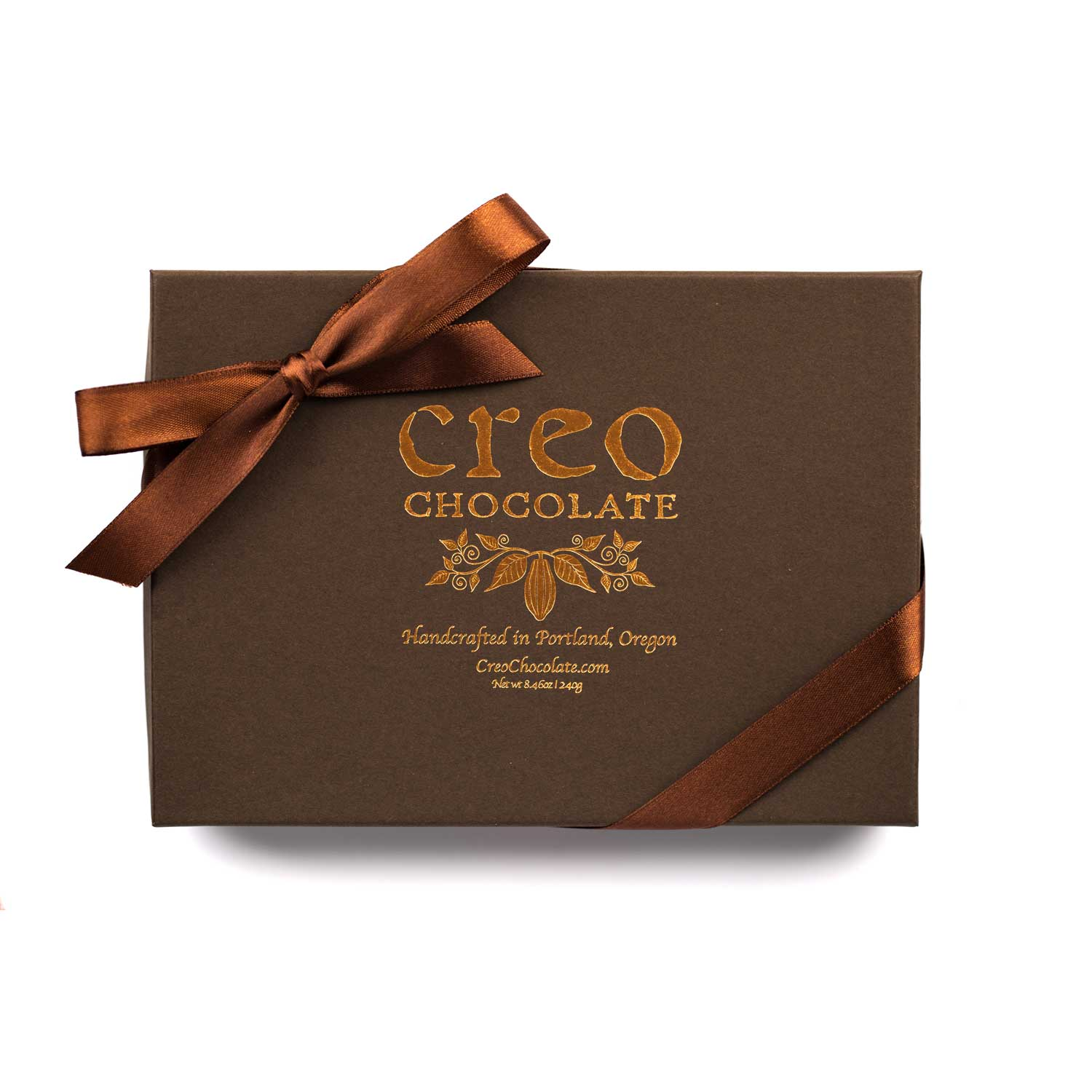 Turtle (Pecan and Caramel) 24-pack - Creo Chocolate