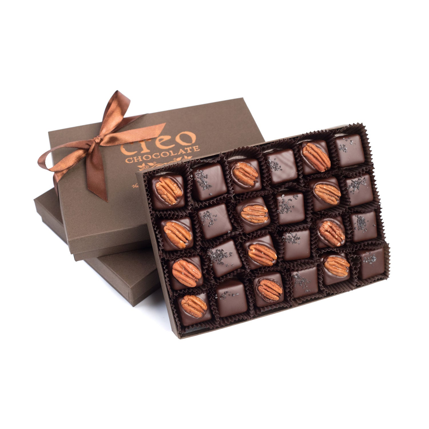 Black Lava Salted Caramel & Turtle (Pecan And Caramel) 24-pack