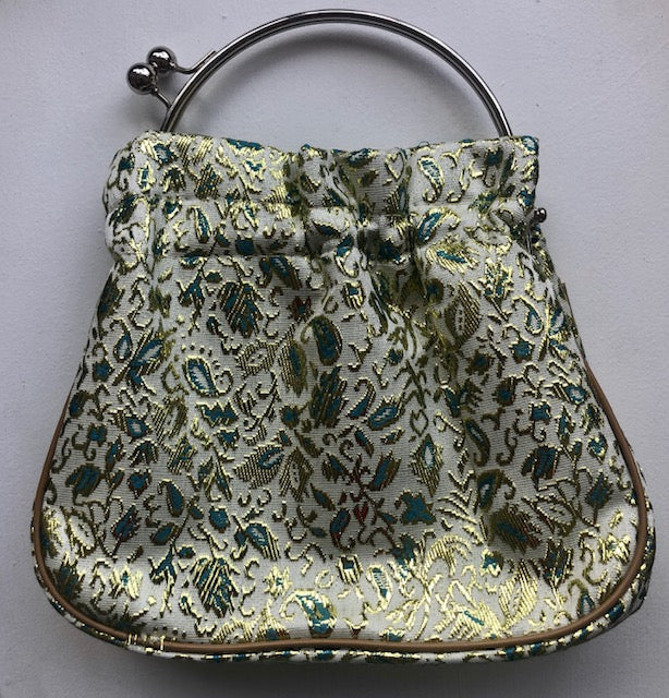 1950s Vintage Unique Golden Paisley