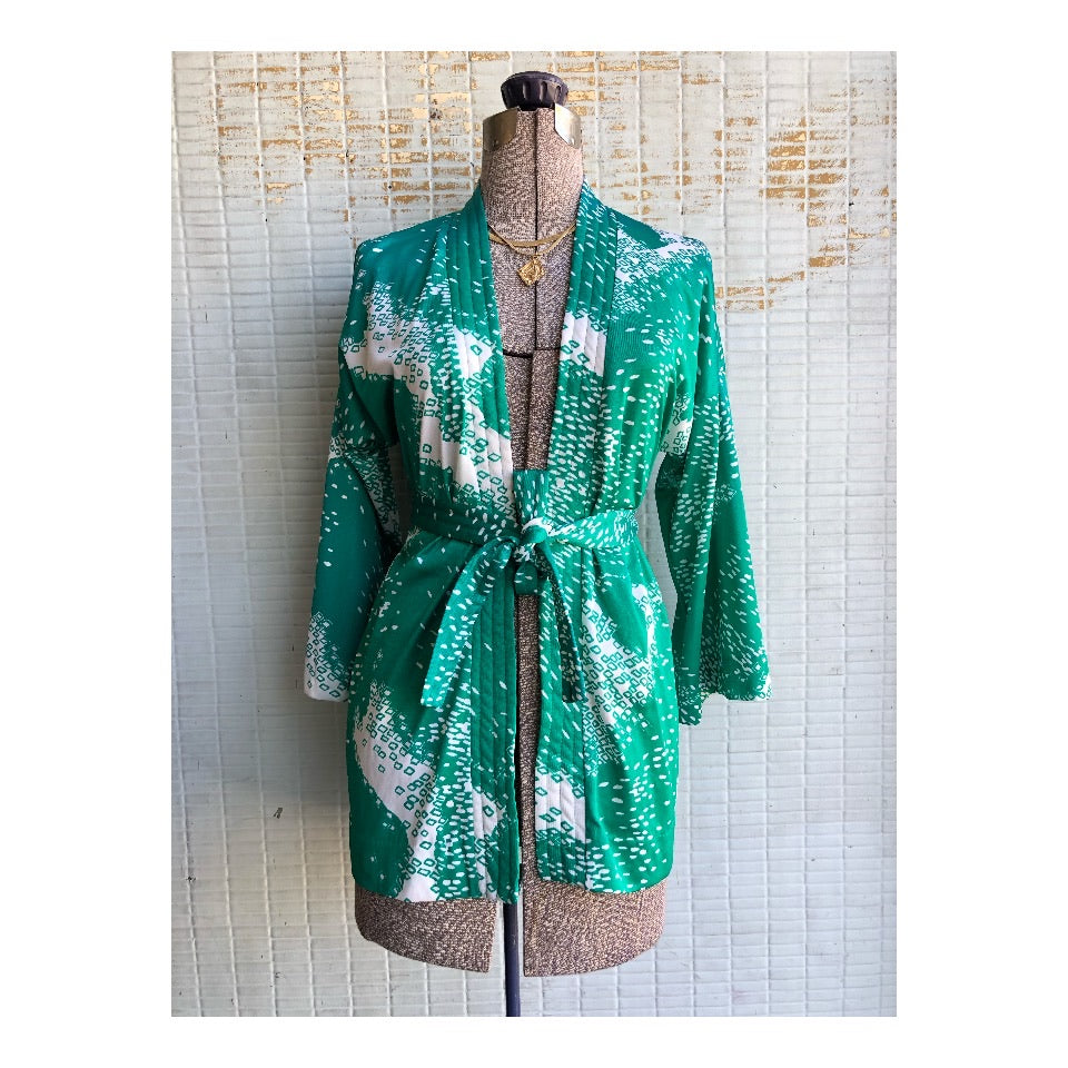 Vintage Jantzen Lounge Wrap Jacket / Robe