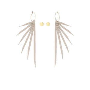 "Open image in slideshow, IN8POWER Earrings -  The ""There is a Light"" Collection"