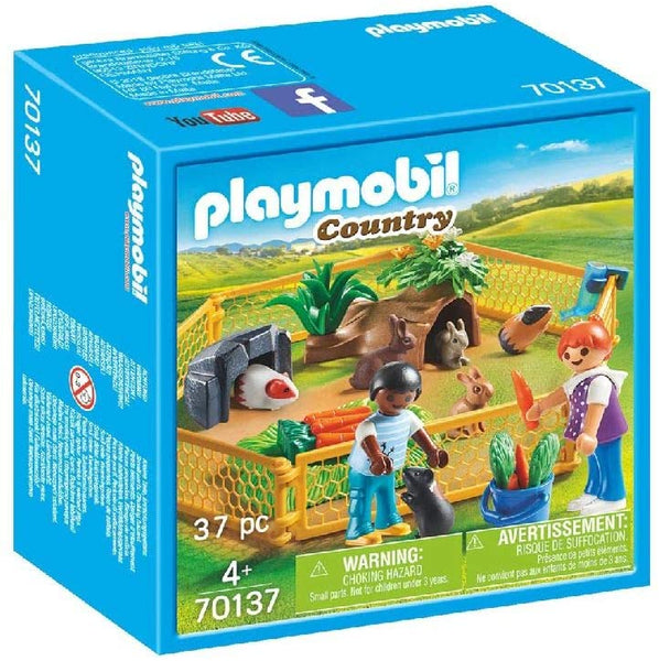 Playmobil 70137 - Recinto dei piccoli animali