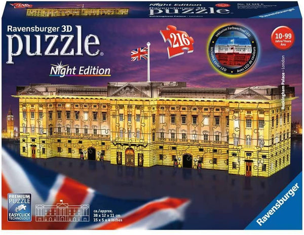 Buckingham Palace | Night Edition - Puzzle 3D