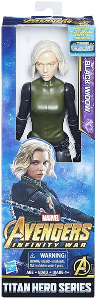 BLACK WIDOW - Titan Hero Series