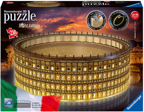 Il Colosseo | Night Edition - Puzzle 3D