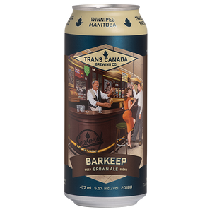 Seasonal Series: Barkeep Brown Ale Cans