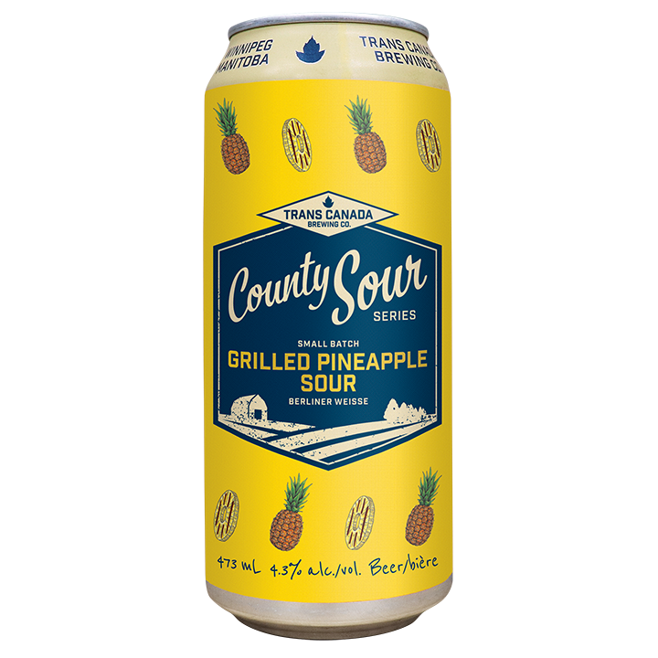 County Sour Series: Grilled Pineapple Sour Cans
