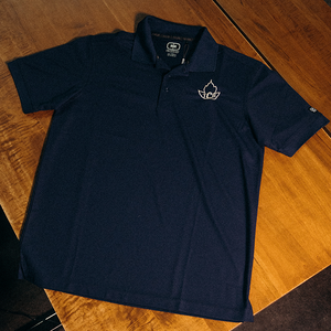 TCB x Ogio Navy Golf Shirt