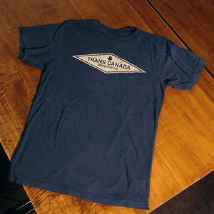 TCB Retro Navy T-Shirt with Diamond Logo