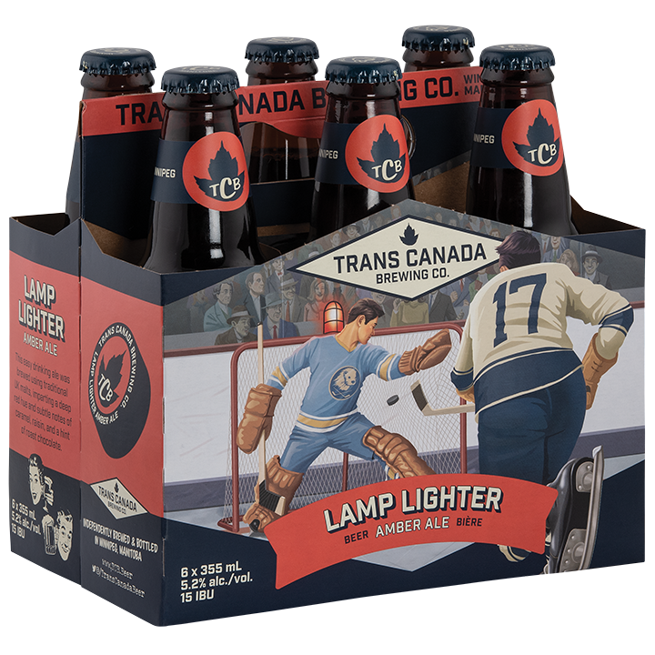 Lamp Lighter Amber Ale Bottle