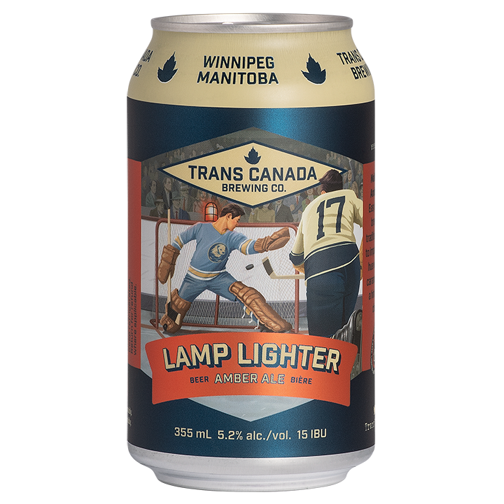 Lamp Lighter Amber Ale Cans