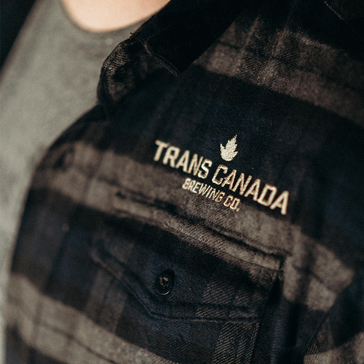 TCB Embroidered Flannel