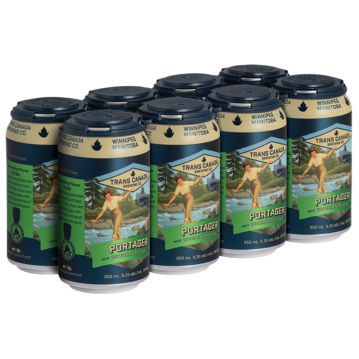 Portager Bohemian Pilsner Cans