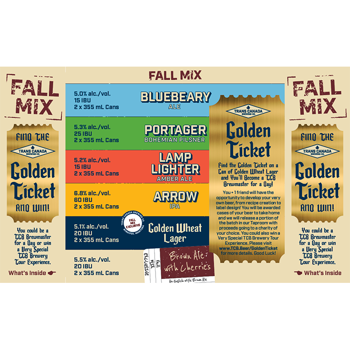The TCB Mixer: Variety Pack- FALL MIX
